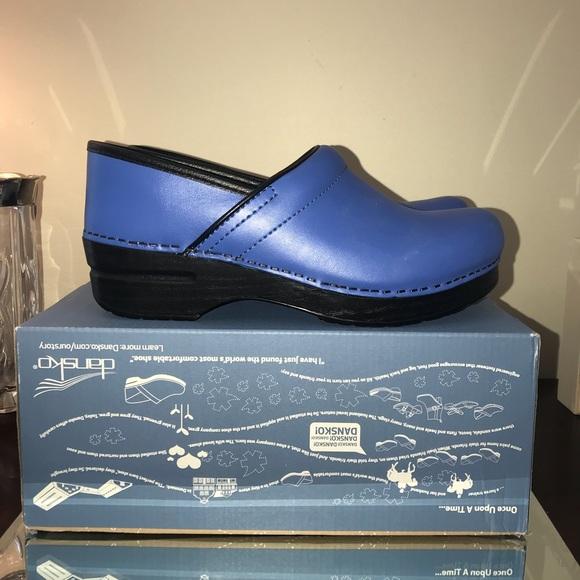 8f48cb8be216 Dansko Shoes   Professional Cobalt Size 39 New In Box   Poshmark
